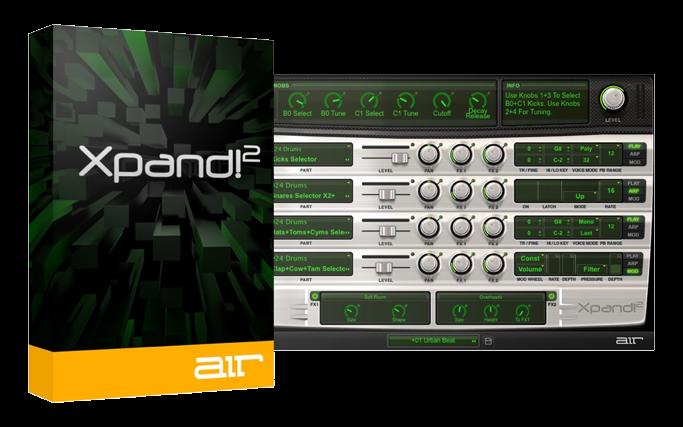 AIR Music Technology Xpand!2